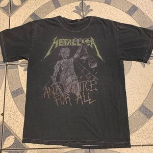 '00s Metallica And Justice For All '88 Tour Tee M